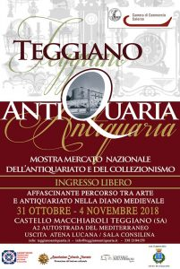 Teggiano Antiquaria 2018
