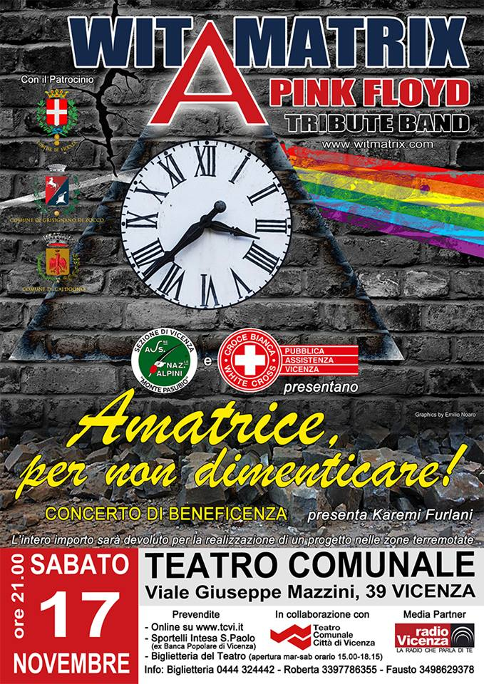 Concerto di beneficenza Wit Matrix - Pink Floyd tribute band