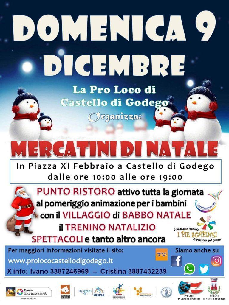 Mercatini di Natale 2018 a Castello di Godego
