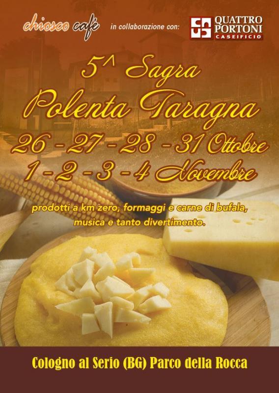 Sagra della Polenta Taragna - V edizione