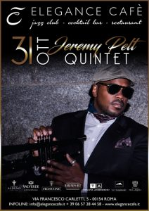 Jeremy Pelt Quintet in concerto