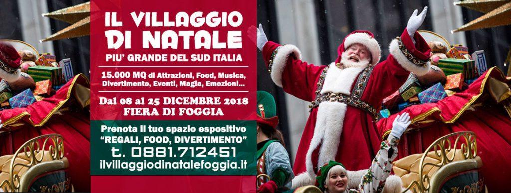 Villaggio di Natale a Foggia