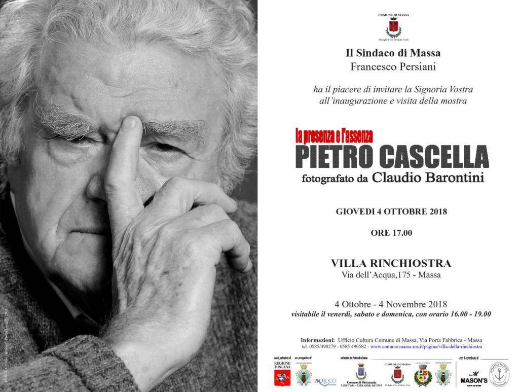 La Presenza e l'Assenza - mostra fotografica su Pietro Cascella