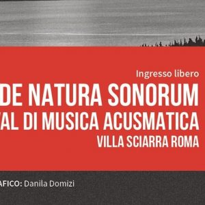 De Natura Sonorum - Festival di Musica Acusmatica