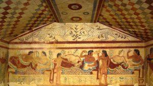 Il Mistero degli Etruschi-Escursione alla Necropoli Etrusca e alle Tombe Dipinte di Tarquinia