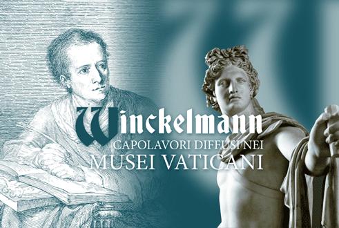 WINCKELMANN - capolavori diffusi nei Musei Vaticani