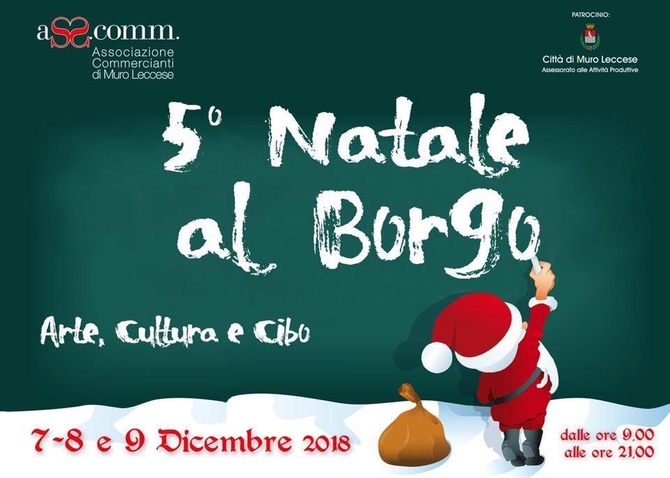 Natale al Borgo - Arte, Cultura e Cibo a Muro Leccese