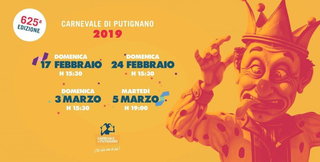 Carnevale di Putignano 2019 - 625° Edizione
