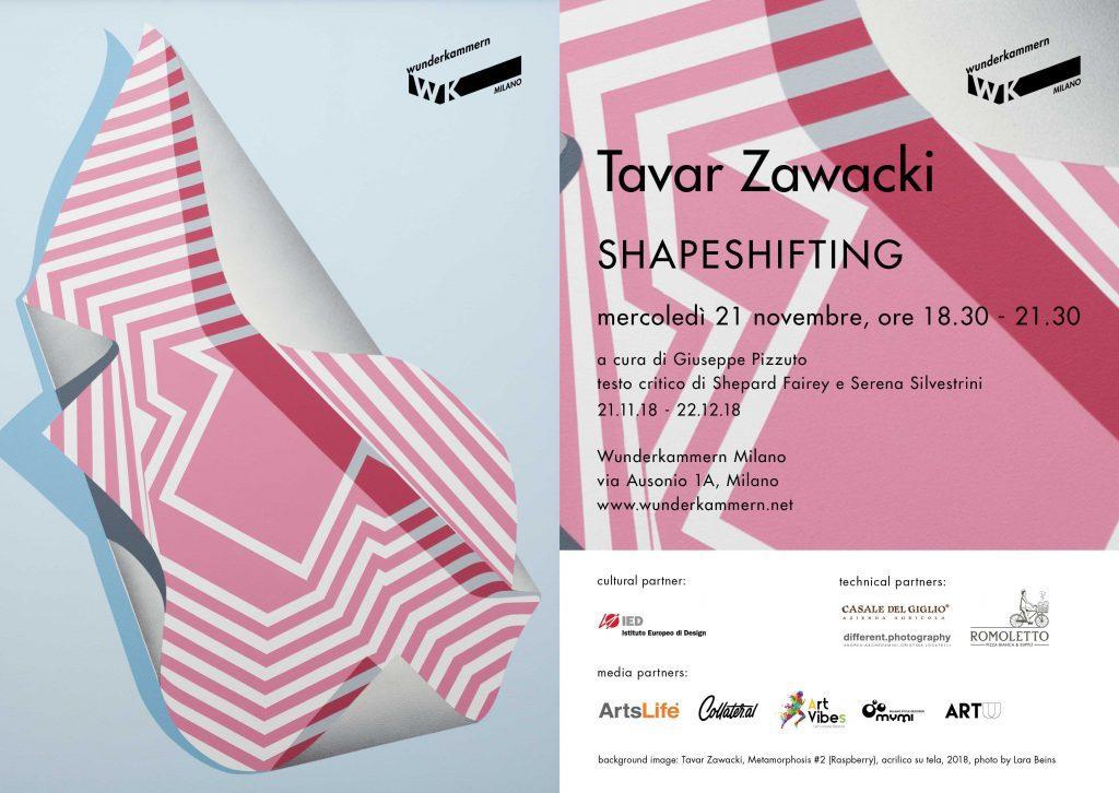 SHAPESHIFITING - personale di Tavar Zawacki |