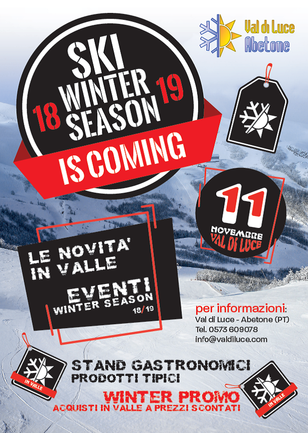 OPEN DAY SKI WINTER SEASON