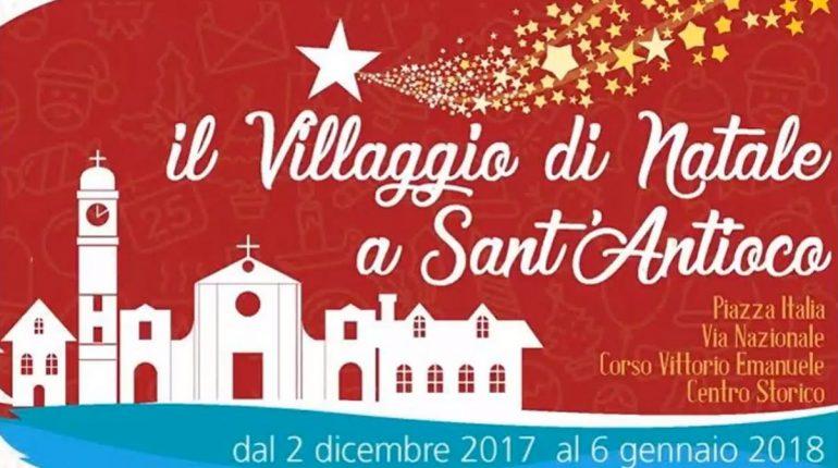Villaggio di Natale a Sant'Antioco