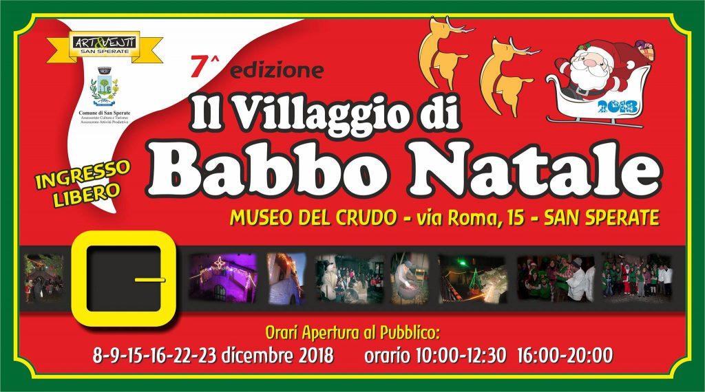Villaggio di Babbo Natale 2018 a San Sperate