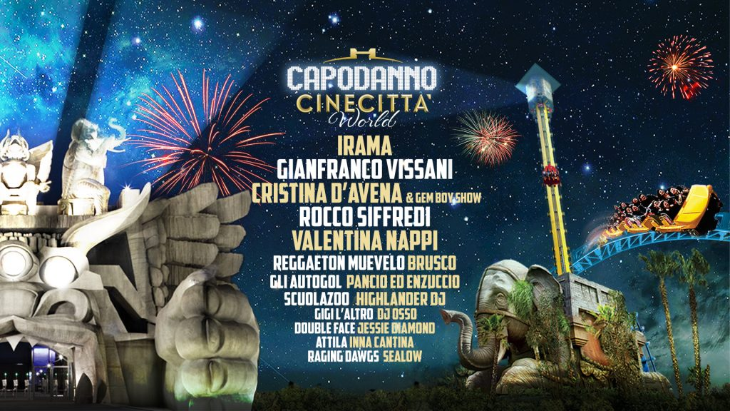 EXTRAFEST - Capodanno a Cinecittà World