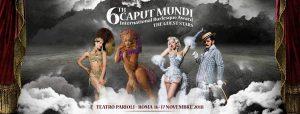 CAPUT MUNDI - International Burlesque Award