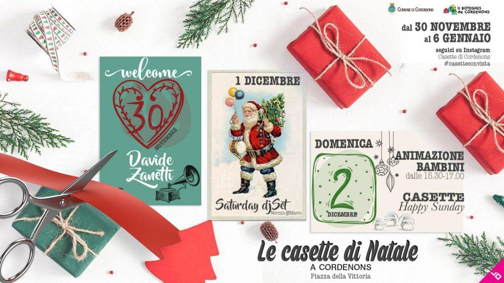 Le Casette di Natale a Cordenons - VI edizione