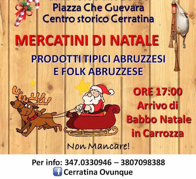 Cerratì Natale - Mercatini di Natale a Pianella