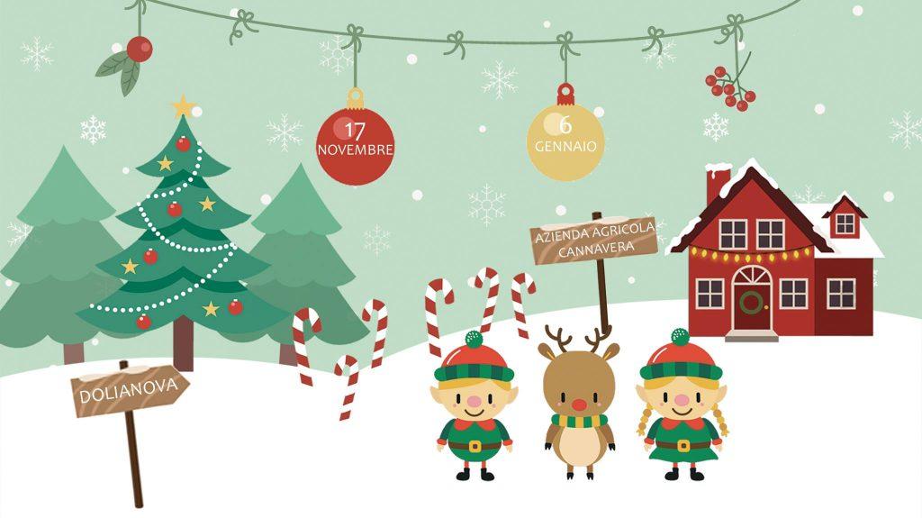Christmas Garden a Dolianova