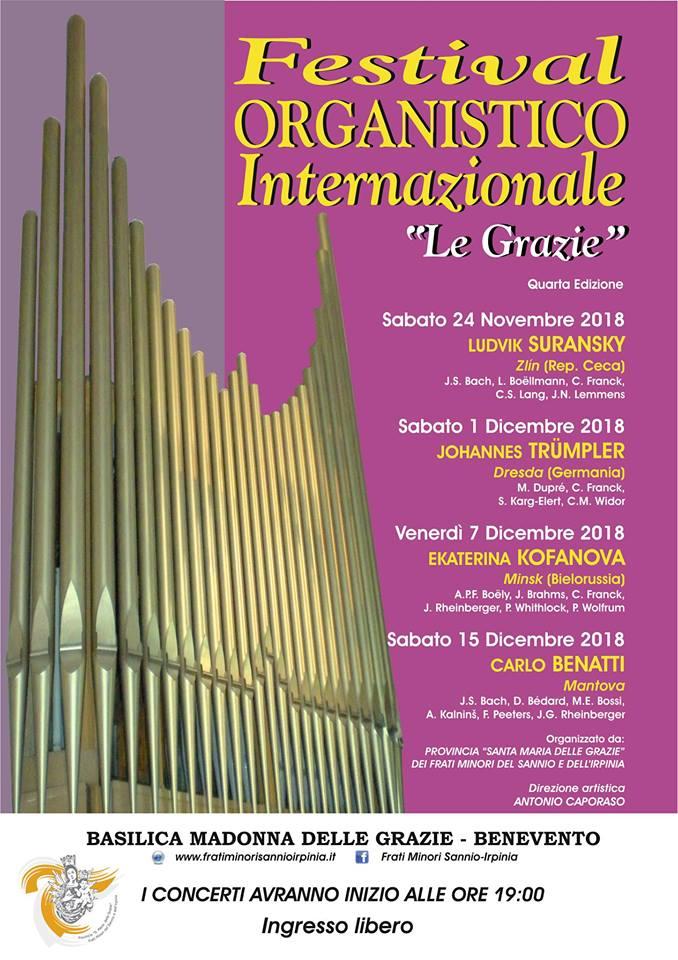 """Festival Organistico Internazionale """"Le Grazie"""""""