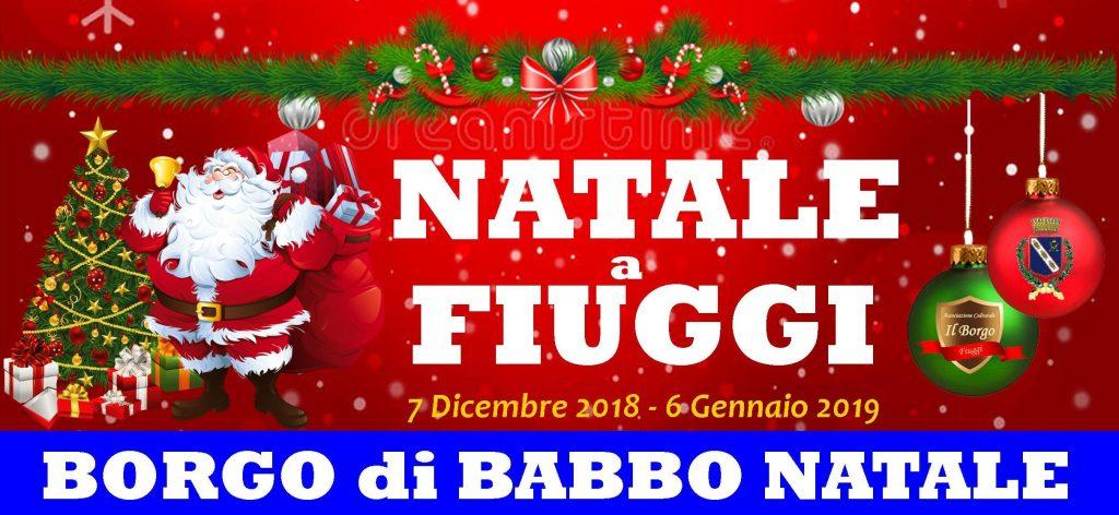 Natale a Fiuggi - Borgo di Babbo Natale