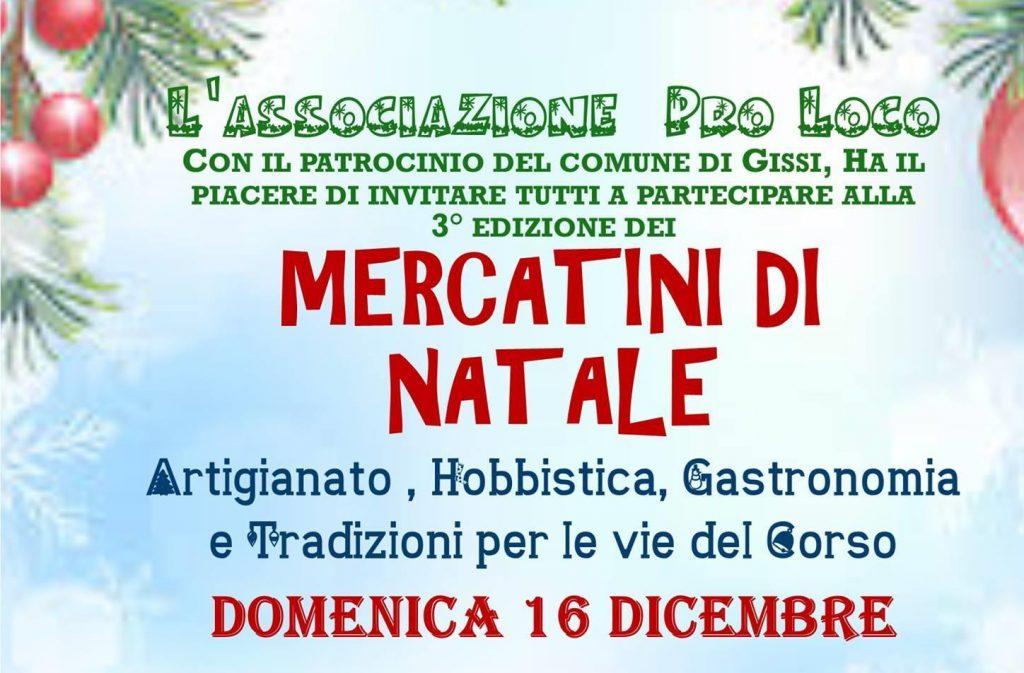 Mercatini di Natale a Gissi - III edizione