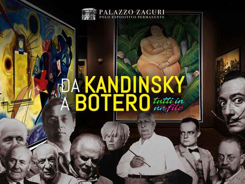 Da Kandinsky a Botero, tutti in un filo