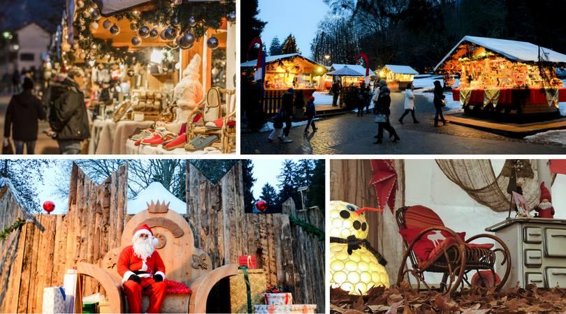 Mercatino di Natale nel Parco Asburgico di Levico Terme