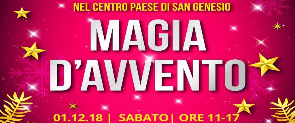 Magia d'Avvento a San Genasio
