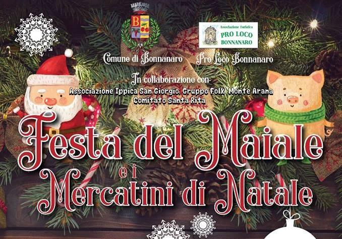 Mercatini di Natale a Bonnanaro
