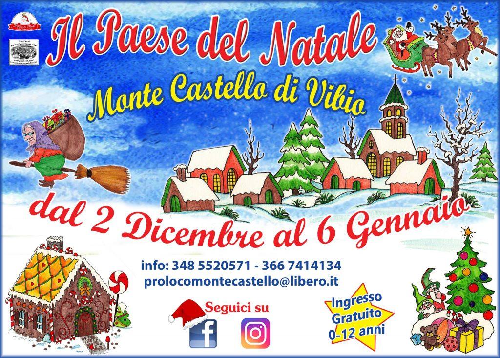 Il Paese Del Natale - Monte Castello Di Vibio