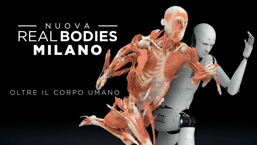 Real Bodies - Oltre il Corpo Umano