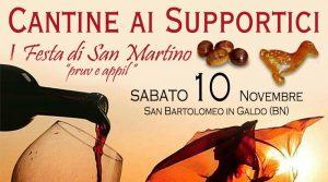 CANTINE AI SUPPORTICI - I° Festa di San Martino