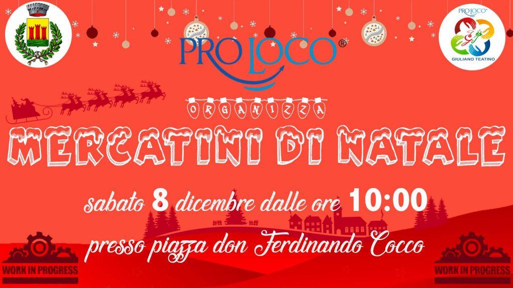 Mercatini di Natale 2018 a Giuliano Teatino