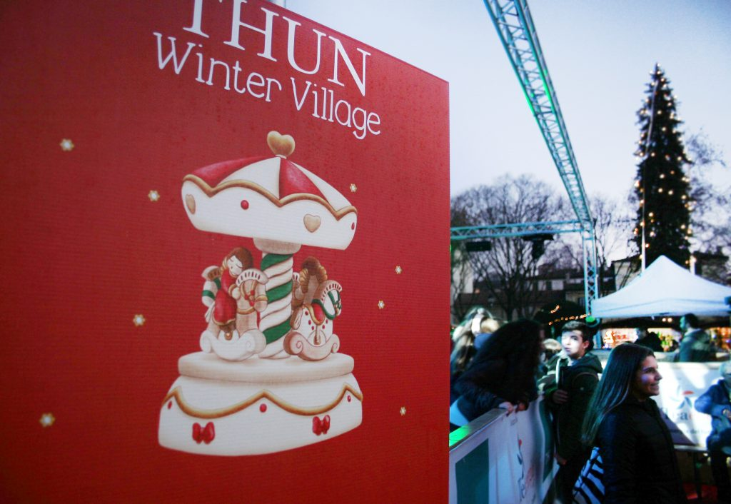 Thun Winter Village - Mercatini di Natale a Mantova