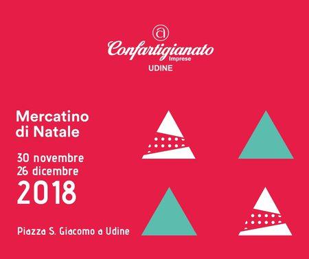 Mercatino di Natale 2018 a Udine