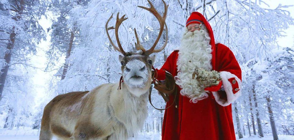Babbo Natale arriva in Corte