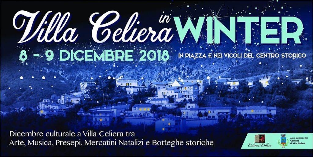 Villa Celiera in Winter - II edizione