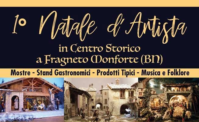 Natale d'Artista a Fragneto Monforte