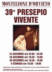 Presepe Vivente di Monteleone d'Orvieto