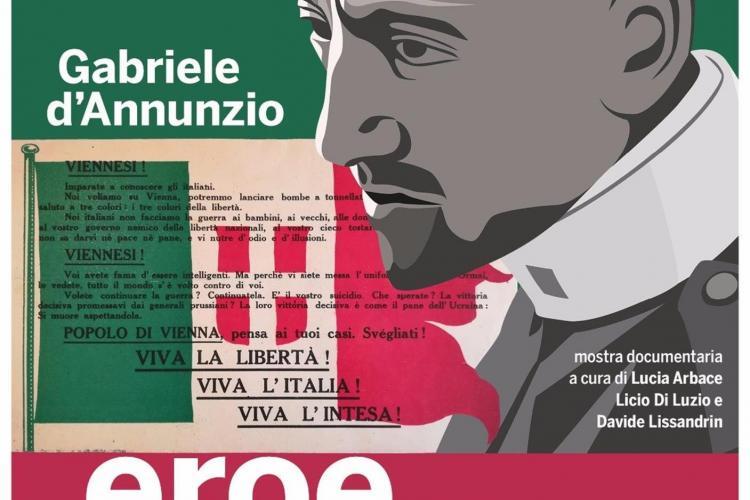 Gabriele d'Annunzio, eroe della Grande Guerra