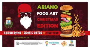 Ariano Food Art - Christmas Edition 2018