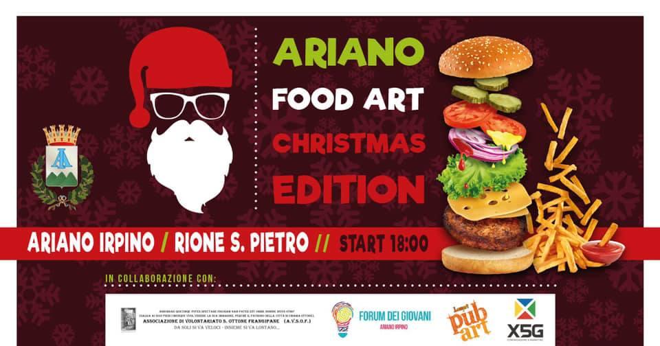 Ariano Food Art - Christmas Edition 2018