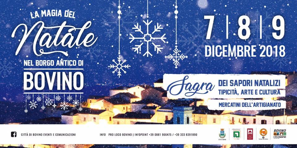 La Magia del Natale nel Borgo Antico di Bovino