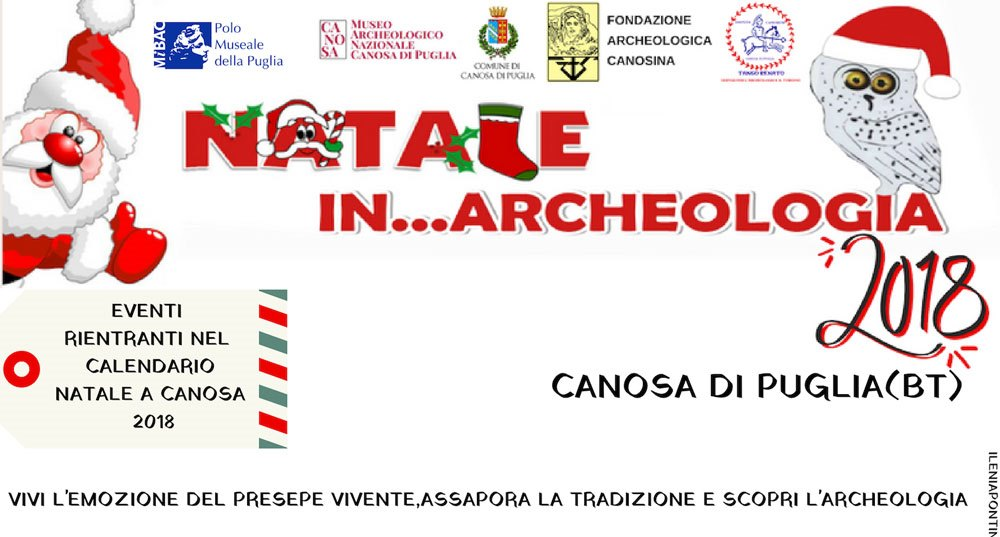 Natale in Archeologia 2018