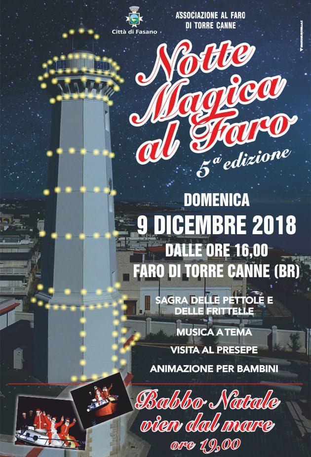 Notte Magica Al Faro: Babbo Natale Vien Dal Mare