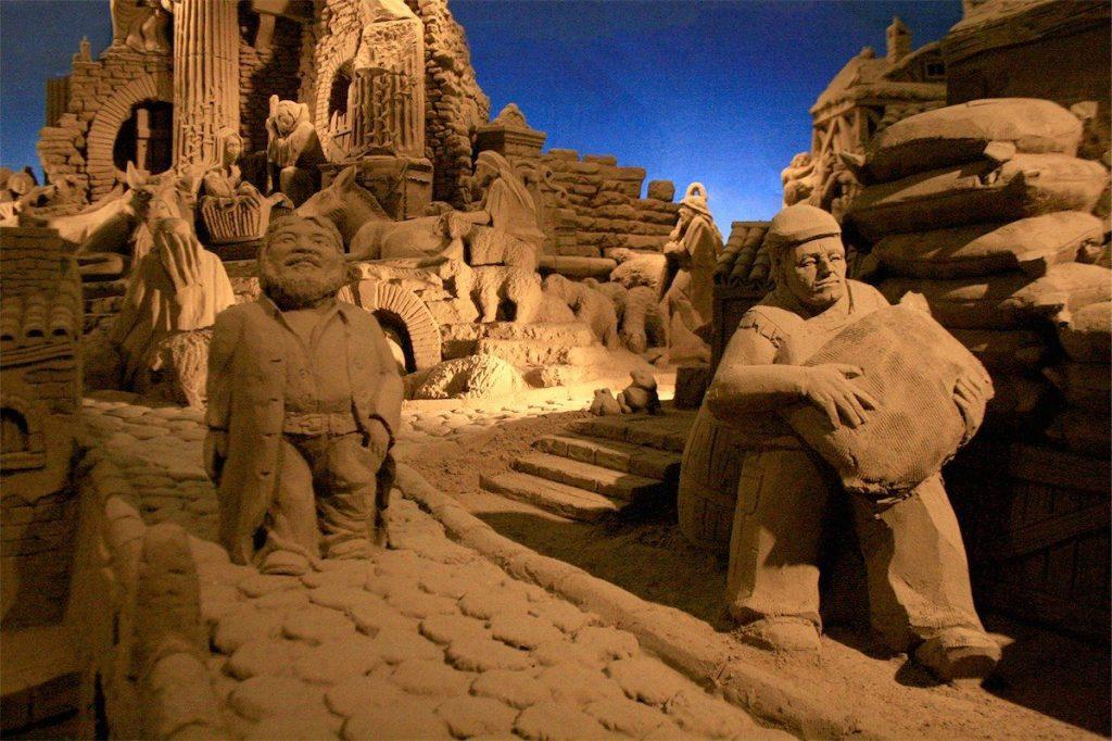 Presepe di Sabbia di Lignano Sabbiadoro - 15° edizione