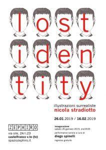 LOST IDENTITY. Illustrazioni surrealiste di Nicola Stradiotto