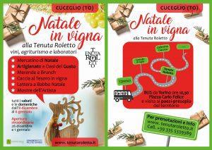Natale in Vigna alla Tenuta Roletto