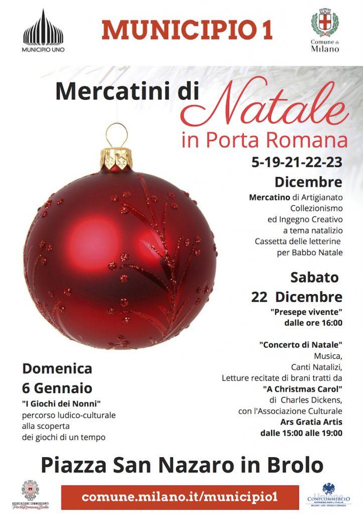Mercatini di Natale in Porta Romana