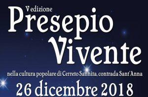 Presepio Vivente di Cerreto Sannita - V edizione