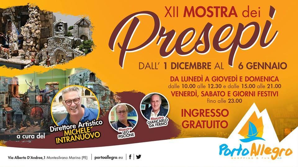 XII Mostra dei Presepi a Montesilvano